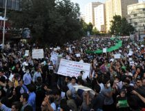 Iran Protests of June 2009, cc Milad Avazbeigi, modified, https://commons.wikimedia.org/wiki/File:Iran_election_protest_June_16_6996.jpg