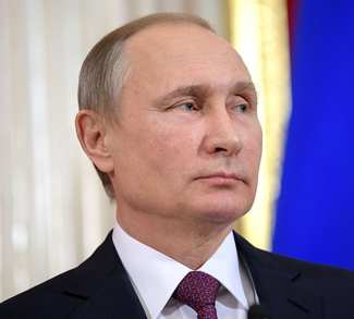 Vladimir_Putinddd, cc The Russian Presidential Press and Information Office, modified, https://commons.wikimedia.org/wiki/File:Vladimir_Putin_(2017-01-17).jpg