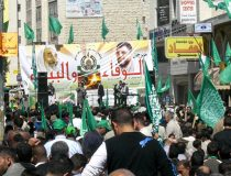 Hamas rally 2007, cc Wikicommons Hoheit (Â¿!), modified, https://commons.wikimedia.org/wiki/File:Yasin_Rantisi_Hamas_Wahlkampf.jpg