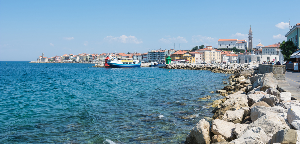 PiranResize, cc Isiwal wikicommons, https://commons.wikimedia.org/wiki/File:Piran_harbour_Punta.jpg