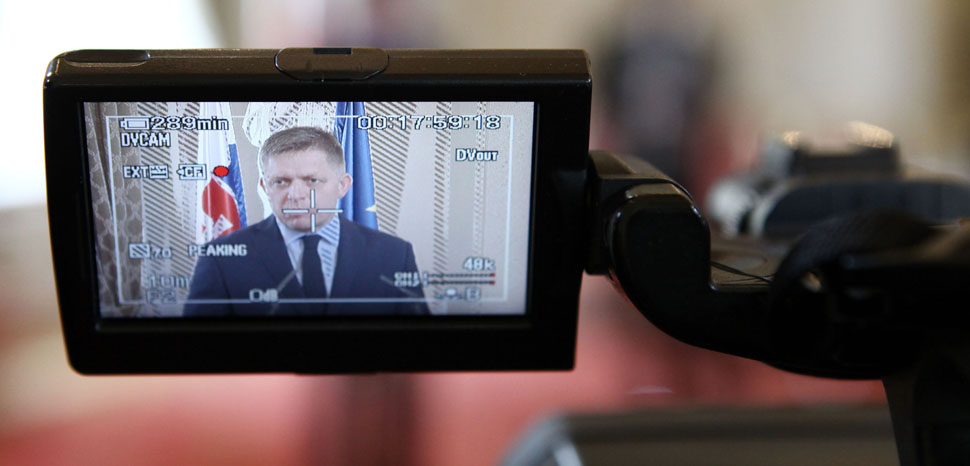 former Slovakia prime minister Robert Fico, cc Flickr EU2016 SK, modified, https://creativecommons.org/publicdomain/zero/1.0/