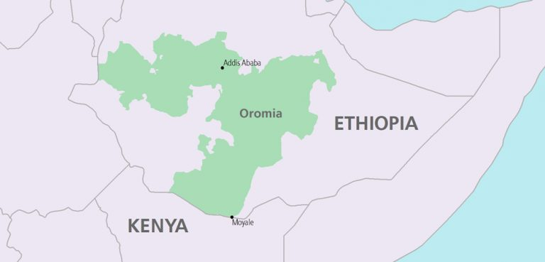 Somalia-Ethiopia-Oromia