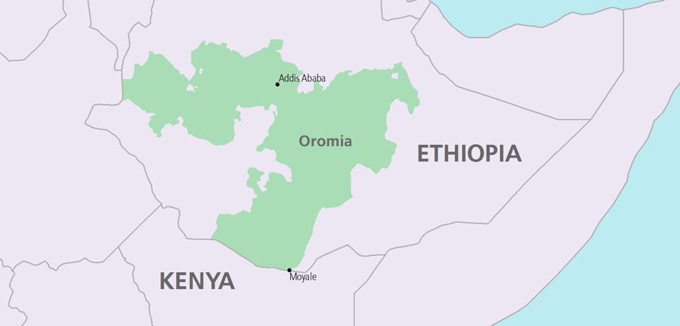 Moyale Ethiopia Map Ethiopians Flee to Kenya following Botched Military Operation