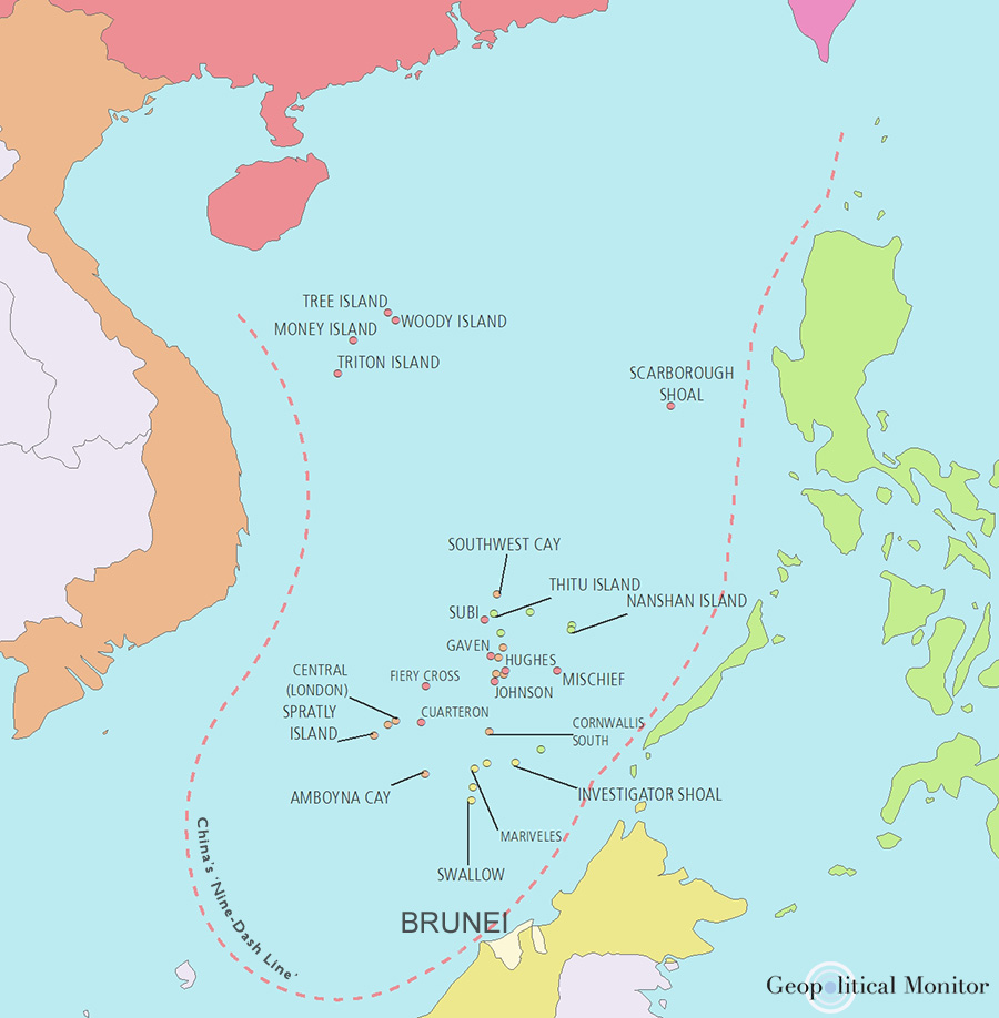 Brunei Abandons South China Sea Claim for Chinese Finance ... on caspian sea, bay of bengal, arabian sea, sea of japan, map of red sea area, map of baltic sea area, yangtze river, map of caspian sea area, south china sea islands, map of east china sea area, red sea, yellow sea, gobi desert, map of aegean sea area, map of barents sea area, indian ocean, caribbean sea, mediterranean sea, black sea, east china sea, yellow river, map of china and oceans, scarborough shoal, map of eastern sea, map of india and china sea, paracel islands, strait of malacca, spratly islands, map of black sea area, map of adriatic sea area,
