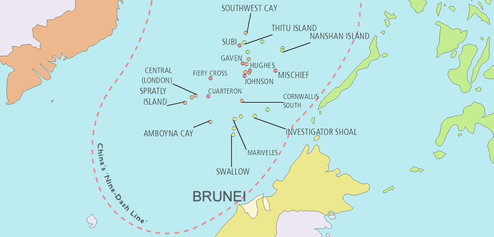 Brunei abandons south china sea claim for chinese finance brunei abandons south china sea claim for chinese finance geopolitical monitor gumiabroncs Gallery