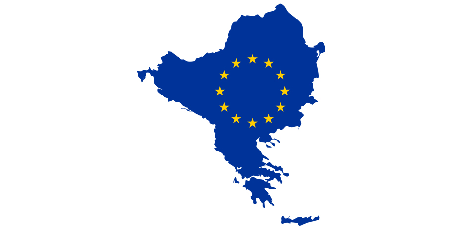 EuBALK, cc Cradel, wikicommons, modified, https://commons.wikimedia.org/wiki/File:Balkan_EU.svg