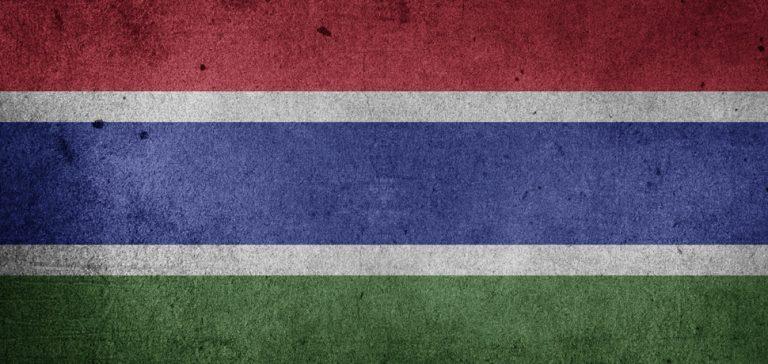 GambiaFlag, cc Pixabay https://pixabay.com/en/flag-the-gambia-gambia-africa-1198964/, modified,