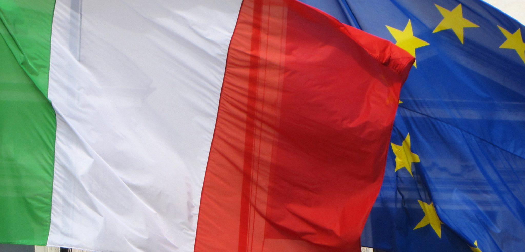 ItalyEUflag, cc Flickr Ed Uthman, modified,
