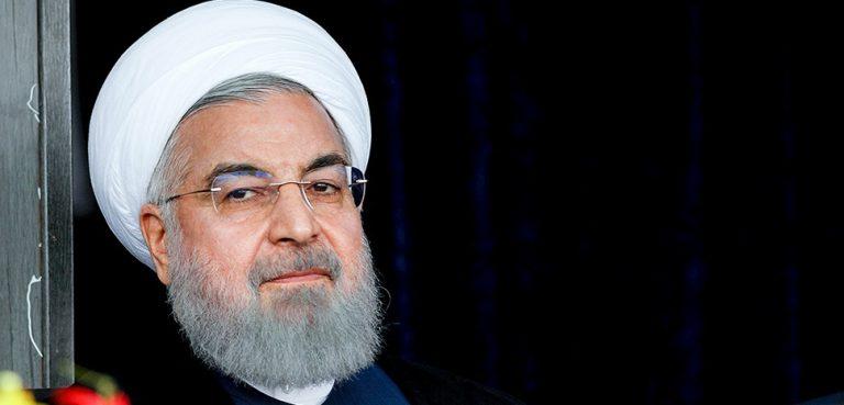 cc Wikicommons Alireza Bahari, modified, https://en.wikipedia.org/wiki/File:President_Rouhani_at_Hormozgan_2018-02-28_02.jpg