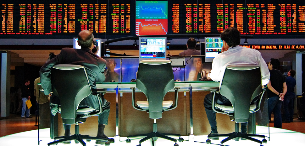 Sao_Paulo_Stock_Exchange, cc Flickr Rafael Matsunaga, modified, https://creativecommons.org/licenses/by/2.0/