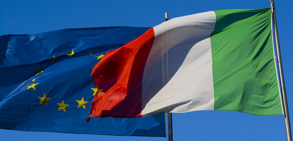 EUItalyflag, cc Flickr Ewan Topping, modified, https://creativecommons.org/licenses/by/2.0/