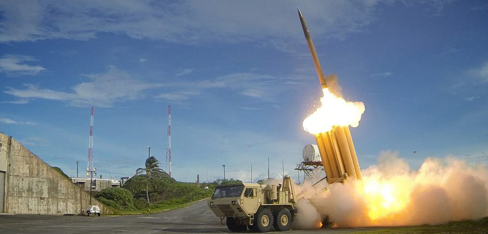 THAAD, cc Flickr Mark Holloway, modified, https://creativecommons.org/licenses/by/2.0/, originally released by US Army