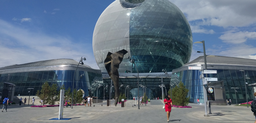 Astana, cc Flickr amanderson2, modified, https://creativecommons.org/publicdomain/mark/1.0/