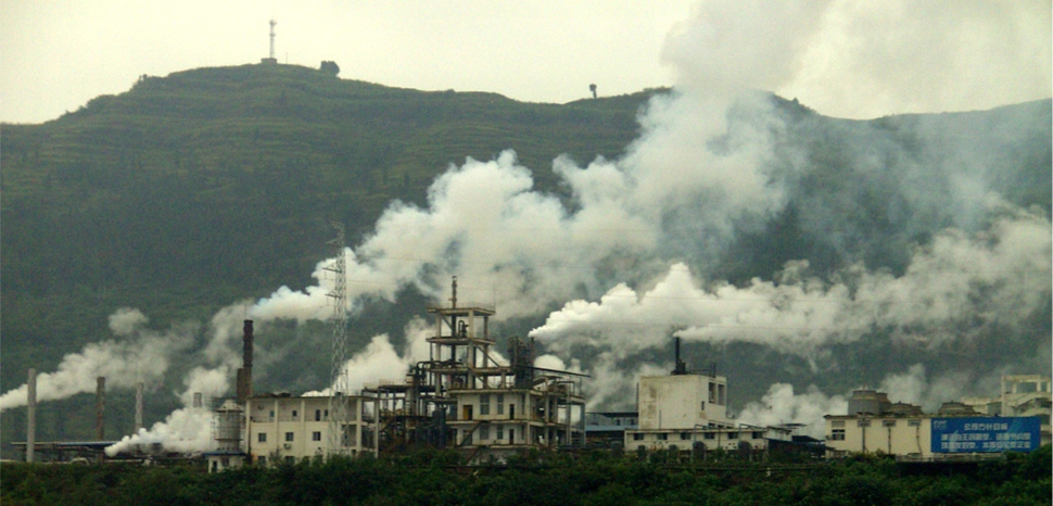 Factory_in_China, cc Wikicommons, modified, author; High Contrast, https://commons.wikimedia.org/wiki/File:Factory_in_China.jpg