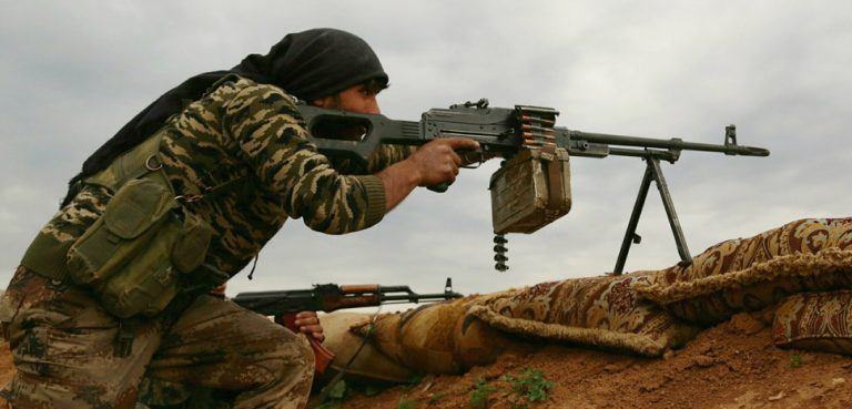 Kurdish YPG in Syria, cc Kurdishstruggle Flickr, modified, https://creativecommons.org/licenses/by/2.0/
