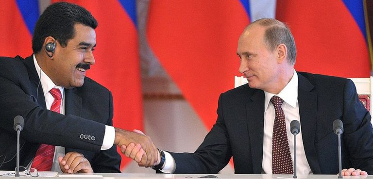 MaduroPutin, CC Kremlin.ru, http://en.kremlin.ru/events/president/news/18446