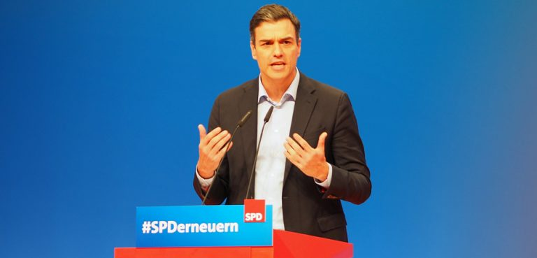 Spain Prime Minister Pedro Sanchez, cc SPD Schleswig-Holstein, Flickr, modified, https://creativecommons.org/licenses/by/2.0/