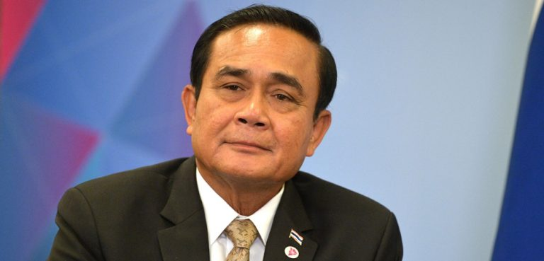 Thai leader Gen. Prayut Chan-ocha, cc http://en.kremlin.ru/events/president/news/59119/photos/56587, Kremlin.ru, modified,