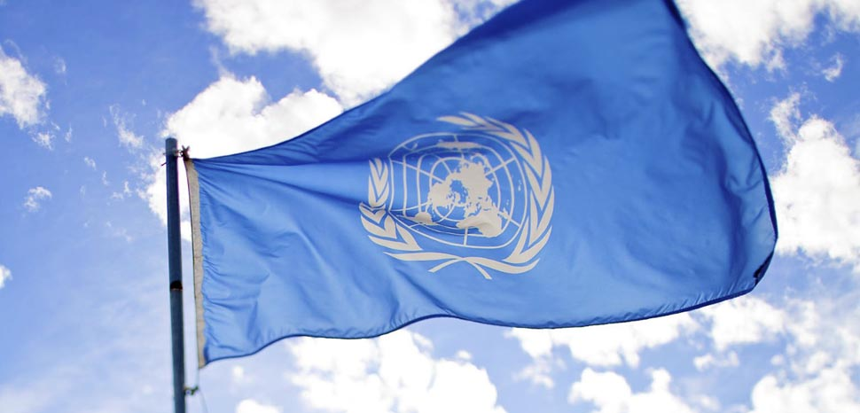 UN flag, cc Flickr sanjitbakshi, modified, https://creativecommons.org/licenses/by/2.0/