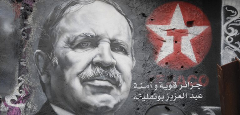 Bouteflika, cc Flickr thierry ehrmann, modified, https://creativecommons.org/licenses/by/2.0/