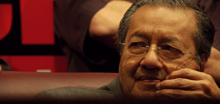 Mahathir, cc Flickr udeyismail, modified, https://creativecommons.org/licenses/by/2.0/