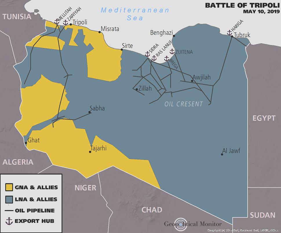 Backgrounder: The Battle of Tripoli (2019) | Geopolitical