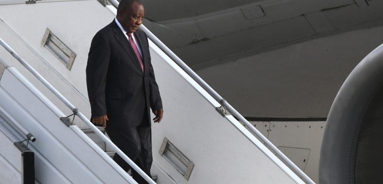 cc Wikicommons, modified, G20 South Africa, https://commons.wikimedia.org/wiki/File:Llegada_de_Cyril_Ramaphosa,_presidente_de_Sud%C3%A1frica_(45196617295).jpg