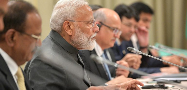 India Prime Minister Modi, cc Kremlin.ru, modifeid, http://en.kremlin.ru/events/president/news/60747