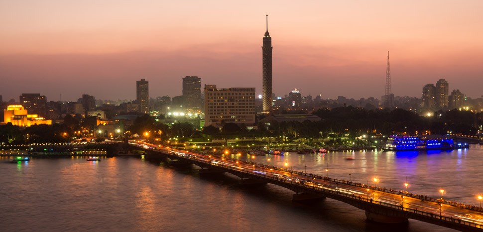 Cairo Skyline / cc Flickr wikiphotographer, modified, https://creativecommons.org/licenses/by-sa/2.0/