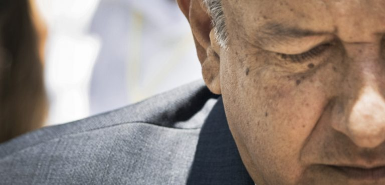 AMLO close-up, cc Flickr Eneas De Troya, modified, https://creativecommons.org/licenses/by/2.0/