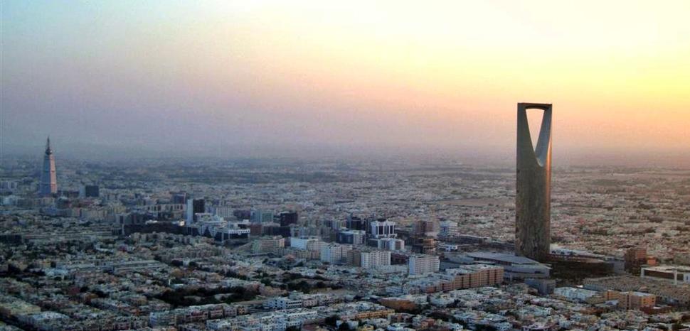 Riyadh skyline, modified, MO, public domain, https://commons.wikimedia.org/wiki/File:Riyadh_Skyline_New.jpg