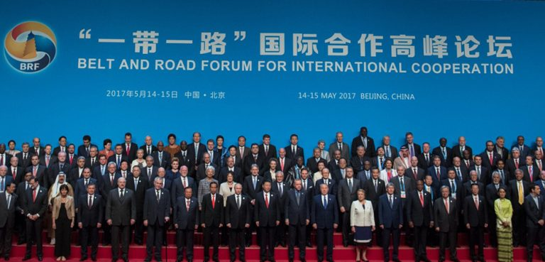 Belt and Road inaugural launch, cc Russian Presidential Press and Information Office, modified,