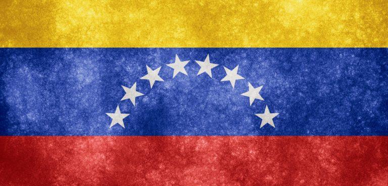 VenezuelaFlag, cc Flickr Nicolas Raymond, modified, CC 3.0, http://freestock.ca/flags_maps_g80-venezuela_grunge_flag_p1086.html
