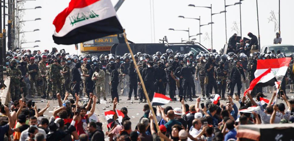IraqProtests2, unknown author, https://commons.wikimedia.org/wiki/File:Baghdadprotests.jpg