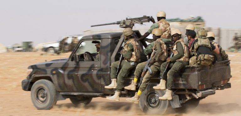 Operation Flintlock training in 2018, cc Flickr USAFRICOM, modified, https://creativecommons.org/licenses/by/2.0/