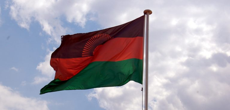 MalawiFlag, cc Flickr Greg Chimitris, modified, https://creativecommons.org/licenses/by/2.0/
