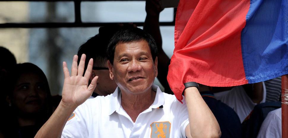 Rodrigo Duterte, CC Flickr, Casino Connection, Modified, https://www.flickr.com/photos/globalgamingbusiness/28758099456/
