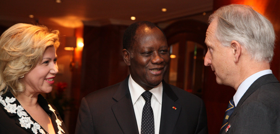 President and First Lady of Côte d'Ivoire, CC Flickr, Foreign, Commonwealth & Development Office, Modified, https://www.flickr.com/photos/foreignoffice/7652237884/, https://creativecommons.org/licenses/by/2.0/