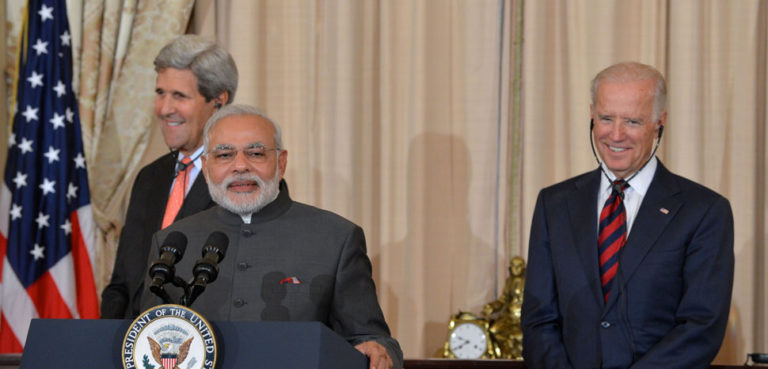 cc US Department of State, modified, https://commons.wikimedia.org/wiki/File:Indian_Prime_Minister_Modi_Delivers_Remarks_at_a_Luncheon_Co-Hosted_by_Secretary_Kerry_and_Vice_President_Biden_(2).jpg,