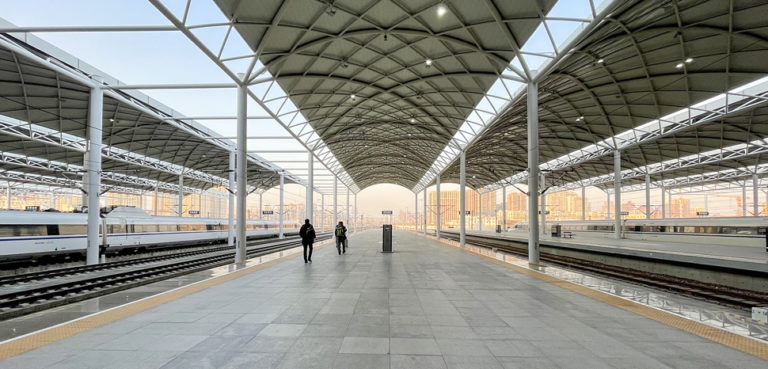 The platforms of Shijiazhuang Railway Station., cc modified, wikicommons Windmemories, https://commons.wikimedia.org/wiki/File:20201216_Platforms_of_Shijiazhuang_Railway_Station_05.jpg