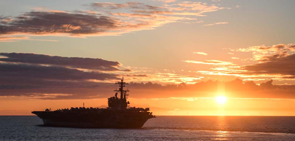 cc Flickr Official U.S. Navy Page, modified, Official U.S. Navy Page USS George H. W. Bush transits the Atlantic Ocean. ATLANTIC OCEAN (Aug. 8, 2017) The Nimitz-class aircraft carrier USS George H. W. Bush (CVN 77) transits the Atlantic Ocean during exercise Saxon Warrior 2017. The U.S. and United Kingdom co-hosted carrier strike group exercise demonstrates allied interoperability and capability to respond to crises and deter potential threats. (U.S. Navy photo by Mass Communication Specialist 1st Class Theron J. Godbold/Released)170808-N-FP878-041, https://www.flickr.com/photos/usnavy/35628757294/in/photolist-WhoGfS-EG1Nzr-2assCKb-ZUsqQM-is7w3K-26E3ycw-22kKzcb-9cmpaL-28rtL6f-YCTuj3-21gDB6K-Q6CfVy-ZenH6m-24JgvTn-KRdPSP-TyJhHB-2cehmVF-YWRbvu-nb4A3G-YRwRhB-26BBnR1-2cYoRiG-27LPmju-yggvFX-22hocKf-H1zxEt-2cXUuXN-qUZyYd-o62bew-27LPyp1-DDHT3Z-BD6BY2-i5ZEEB-TqpaWJ-22KpNhP-2cXUxpG-9sFHpc-GySAj8-29no4gT-oL7MbT-29LS2jb-21DvJN7-29R9ntN-25xHV9X-KRdJtn-qRDdCs-SuwpHw-29sGRX3-29LWHbh-i5osTb