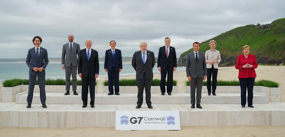 cc President Joe Biden, modified, https://commons.wikimedia.org/wiki/File:Leaders_group_photo_at_47th_G7_Summit.jpg