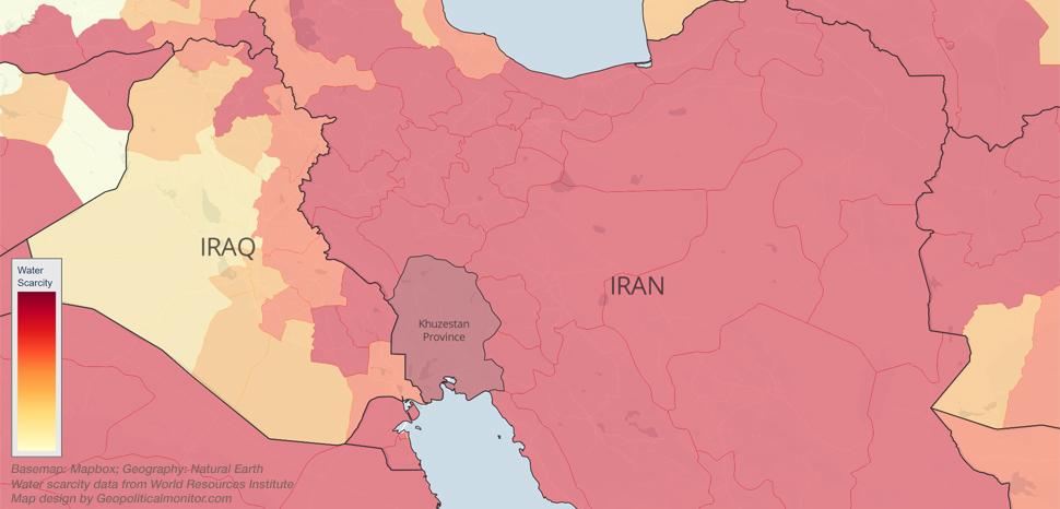 GPM Iran-Iraq Water Stress - Aqueduct
