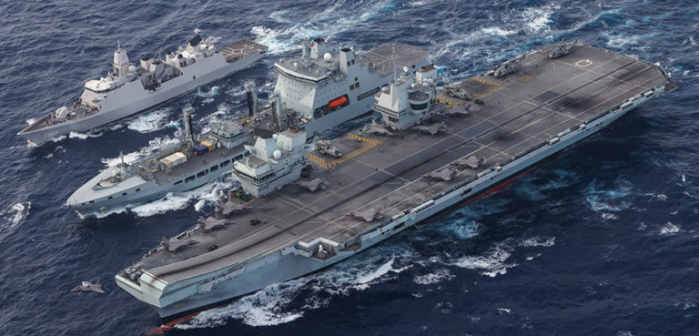 HMS Queen Elizabeth (R 08) conducts a replenishment-at-sea in the South China Sea., cc Official U.S. Navy Page, modified, https://flickr.com/photos/usnavy/51351941357/in/photolist-2meN86g-2kWqQvc-A2yrhM-2kLCiUC-2gXABPz-2knkiXE-yZZH7w-2kLSQET-A1ppmJ-2kLMdnt-2kZoUcW-fqWPet-2joWfAY-2jY94a9-2kyv9fK-2kLC2Qc-2jQ7GHM-2kLQX9n-2kLCkQg-2k8MD8h-2m58p49-2kZwsvm-2m1rTkX-2jXHm7A-KdwCuo-BMtMEj-qTo81J-2j5AXZ1-2kJZR6X-2j5CvQj-zUJoRh-7MUVQT-2j5Cwhb-2j5EoVD-2kMFAZS-4GT7WC-4GNXRi-XhGmaz-2iBMrrE-2hwQE1Q-2iFqrVo-nYd9Zc-2jj5xdD-Mu5wJx-2kZoUe4-HEBLde-2iBP2Xq-2gjaUFz-2hnxwzi-2kLRpfG